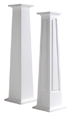SQUARE CUSTOM DESIGNED MDF COLUMNS -4